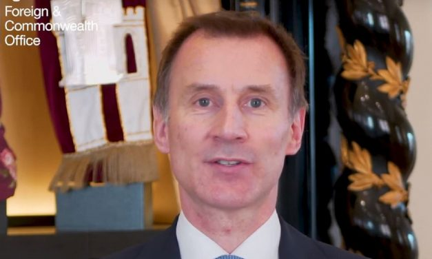 "Jeremy Hunt says Israel is a ""huge achievement for all humanity"" in moving Passover message"