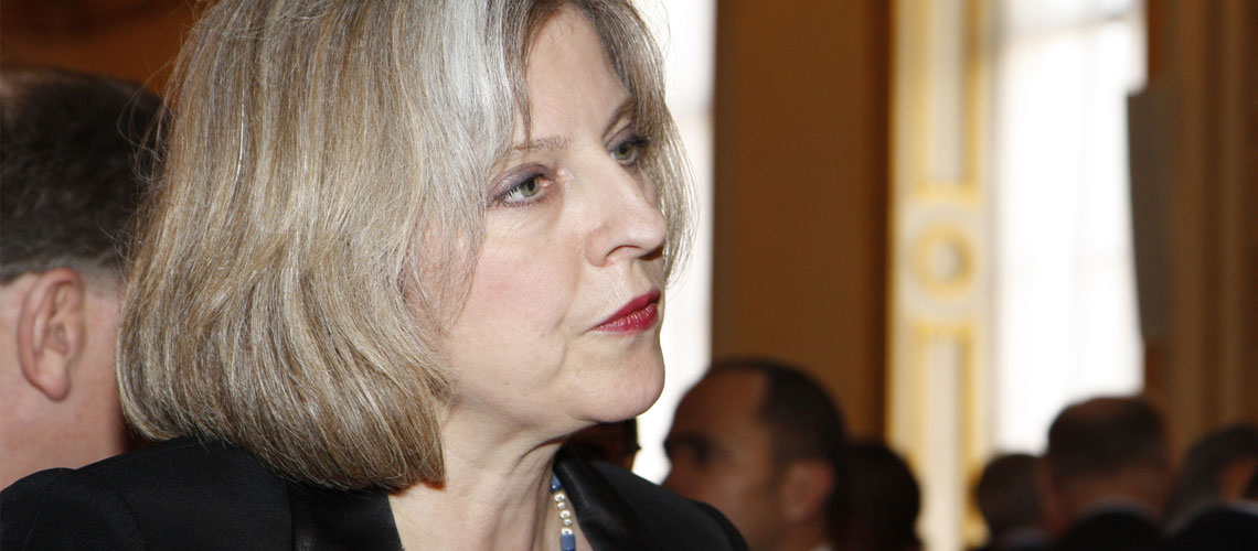 """UK must redouble its efforts to """"wipe out anti-Semitism"""" – Theresa May"""