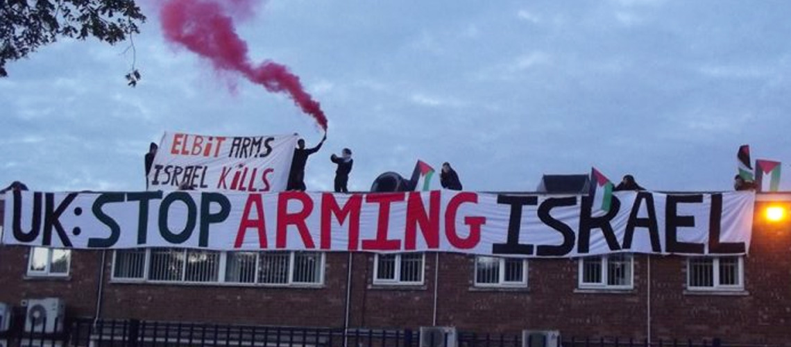 UK: Anti-Israel demo closes Kent drone factory