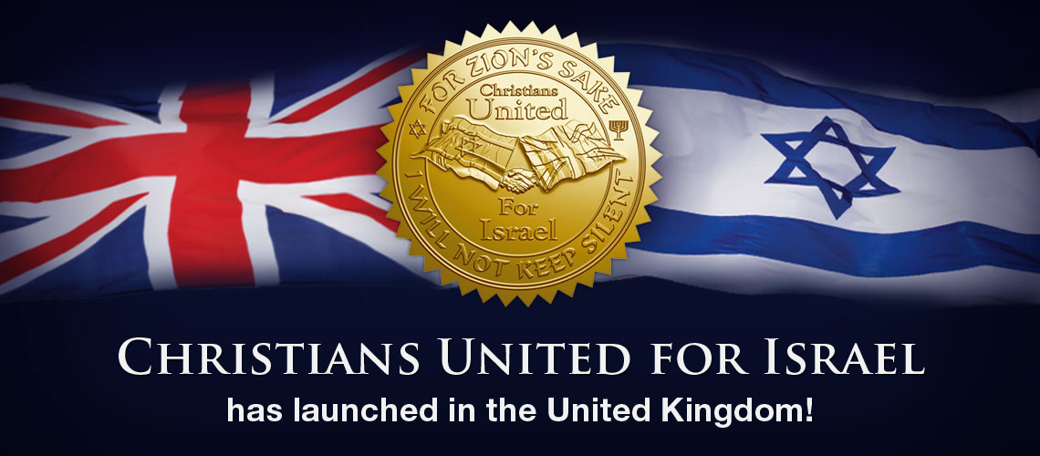 Christians United for Israel launches in the UK