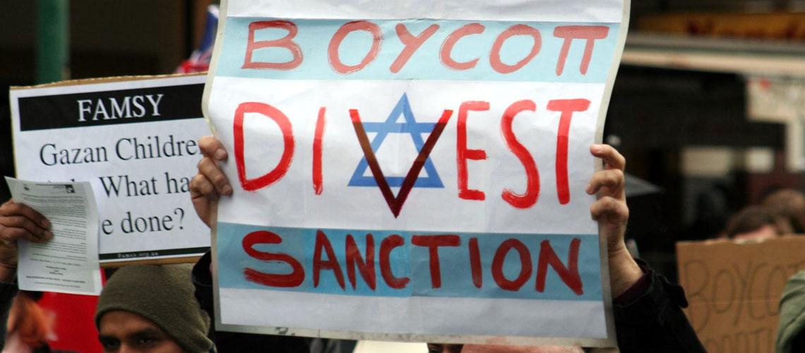 ANALYSIS: From Durban to Los Angeles – The BDS Movement's Long Trail of Anti-Semitism