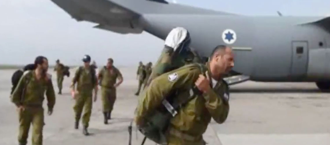 Israel's aid team to Nepal larger than any other country's
