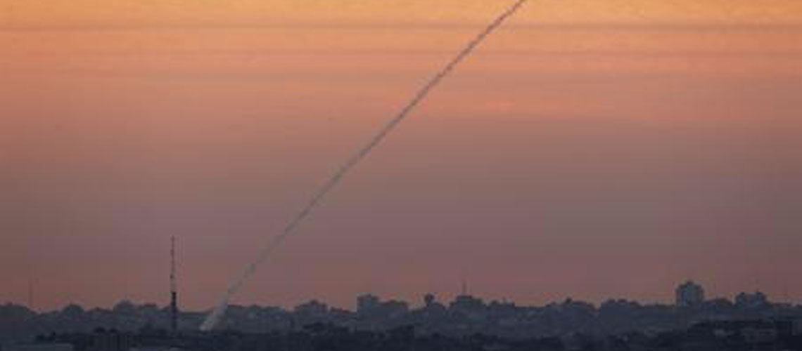 Rocket from Gaza fired at Israel on Independence Day
