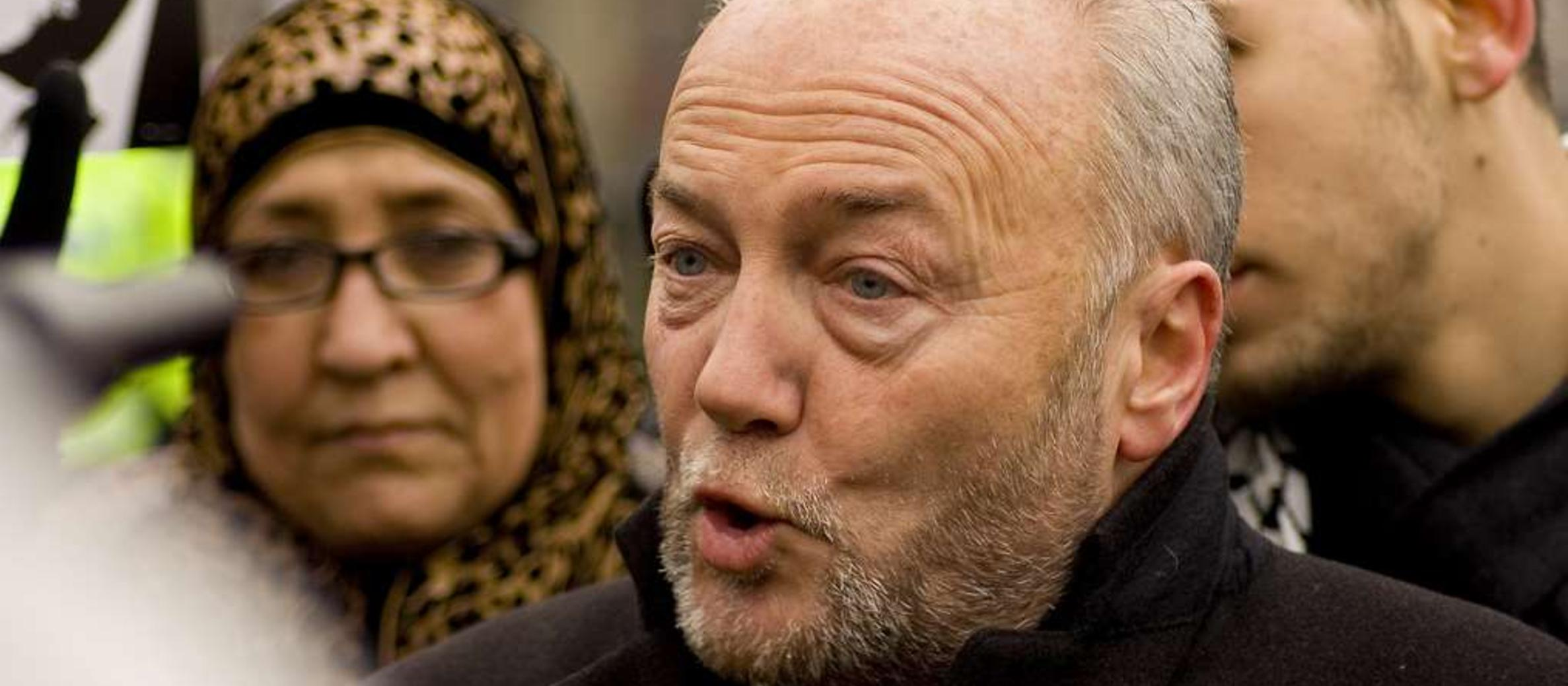 George Galloway promises the 'mother of all protests' outside Tel Aviv festival in London