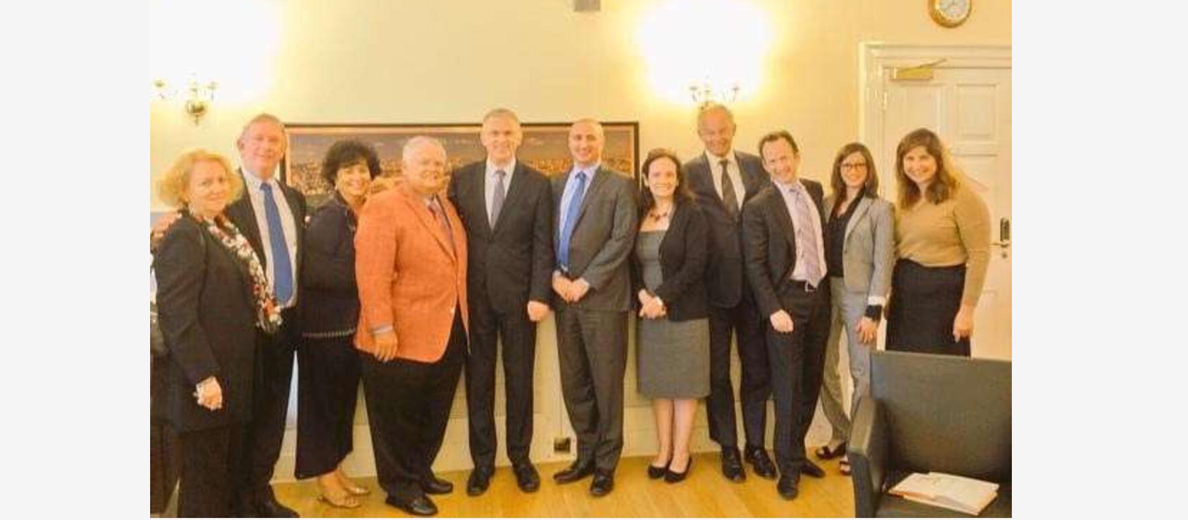 Ambassador Taub welcomes CUFI UK