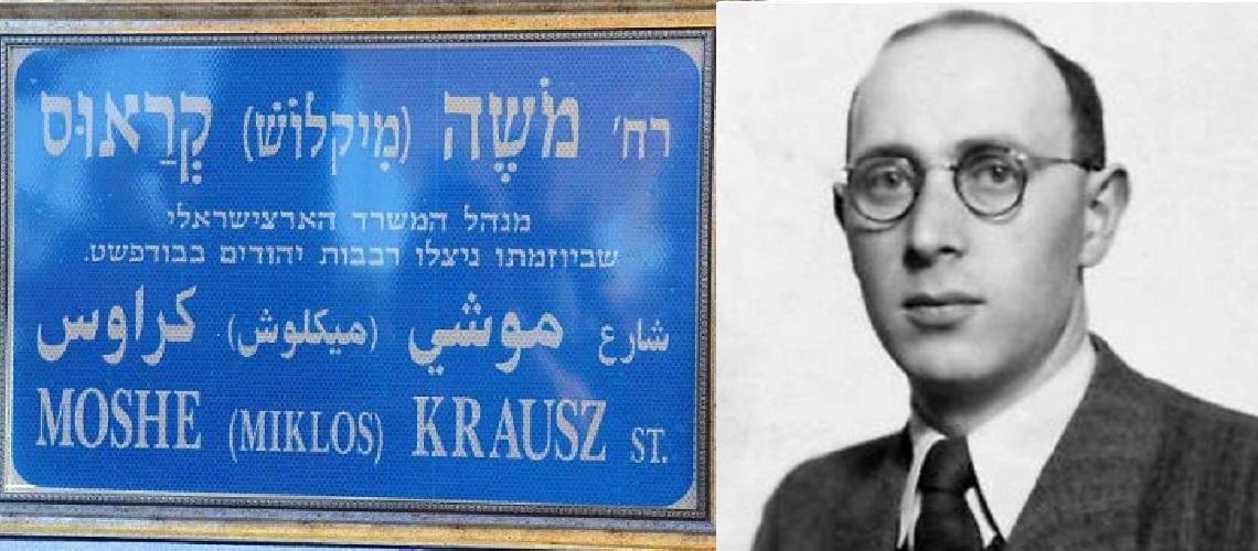 Jerusalem street named in honour of European who rescued 40,000 Jews in WWII