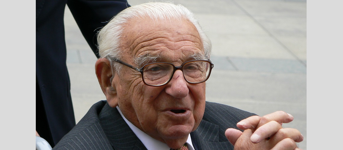 Memorial service and conert to be held in honour of Sir Nicholas Winton