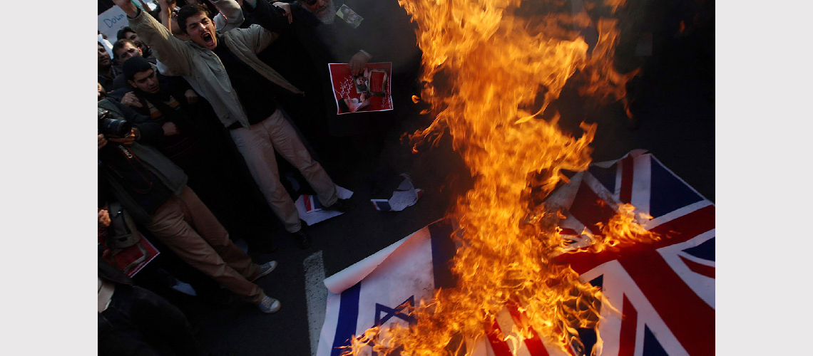 """Iranian official says """"Israel should be annihilated"""" as British Embassy reopens in Tehran"""