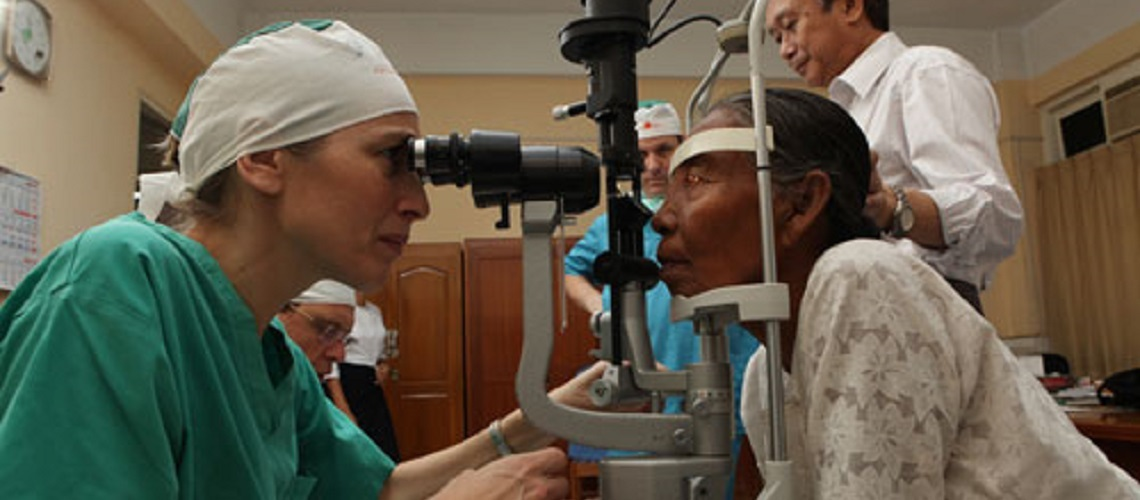 Israeli Doctors restore sight to 90 Kyrgyzstanis