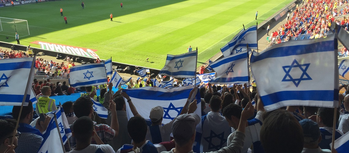 Wales welcomes Israeli football team despite protests