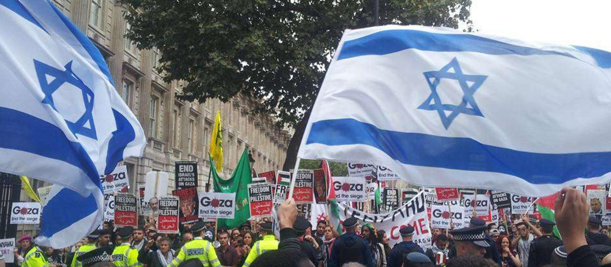 Protests surrounding Netanyahu visit show true face of anti-Israel movement