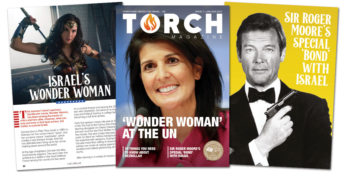 'Wonder Woman' at the UN | Receive your copy of TORCH magazine