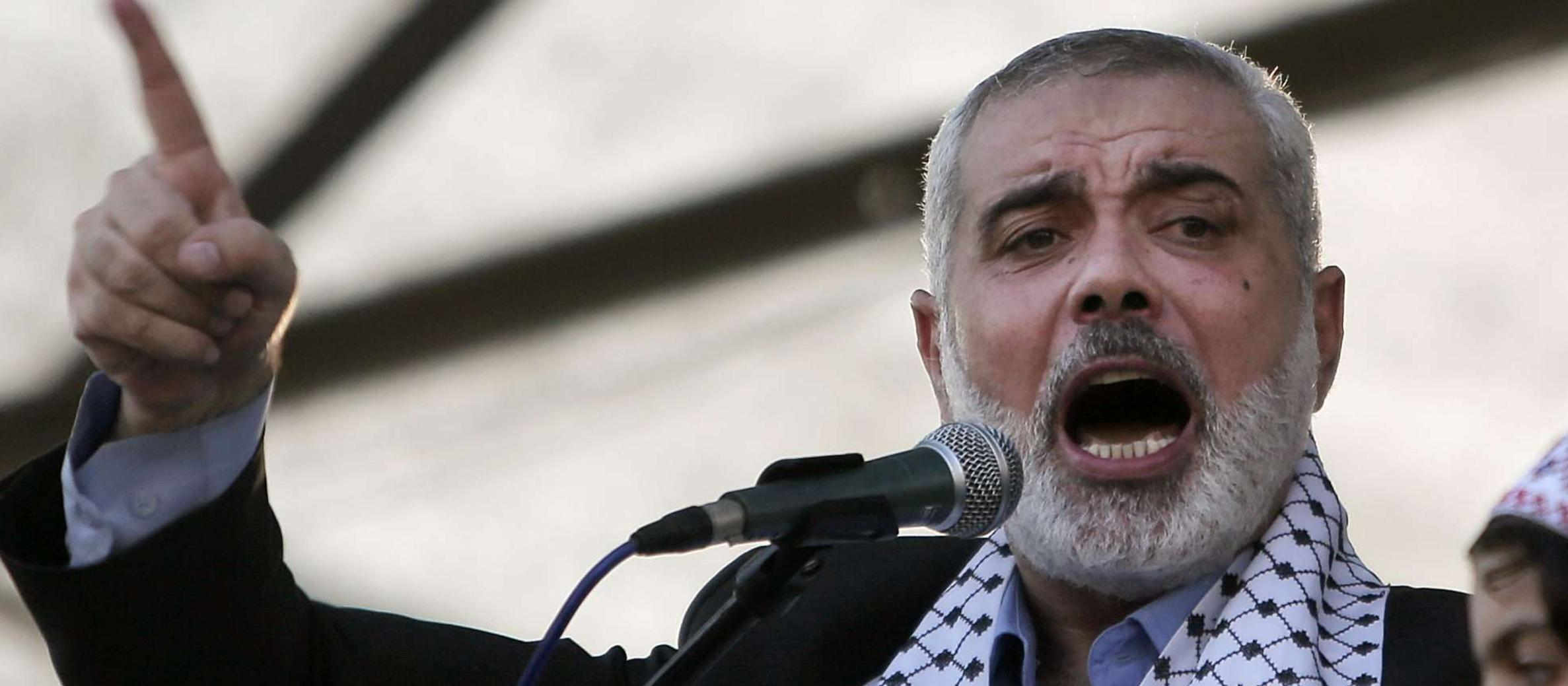Hamas leader declares 'intifada' in the West Bank