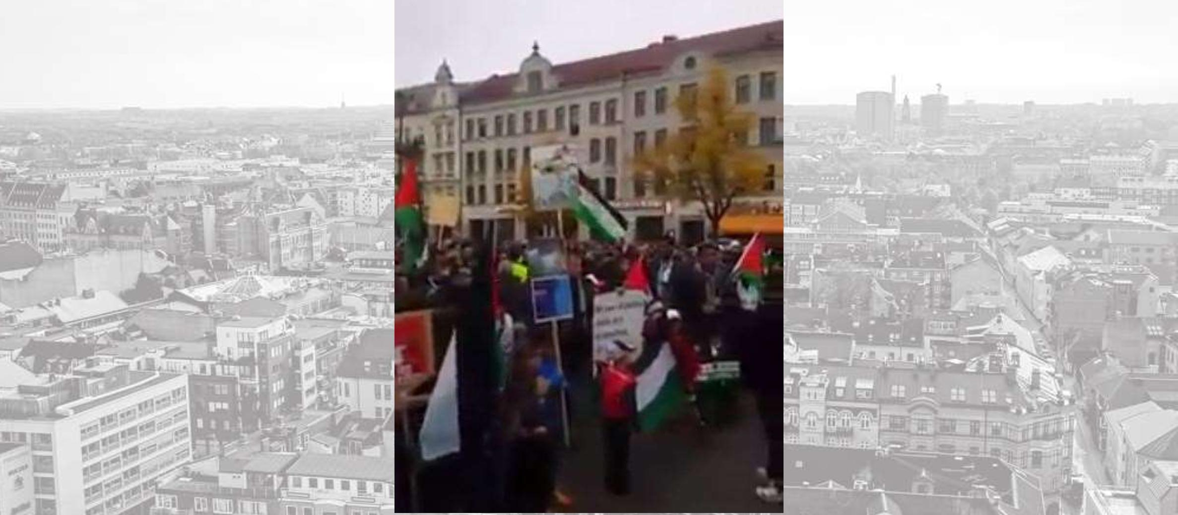 "VIDEO: Pro-Palestinian protesters in Sweden call to ""slaughter the Jews"""