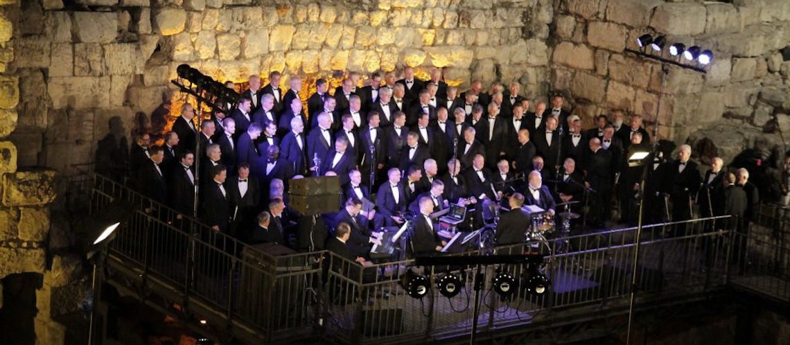 Bringing hope to the Holy Land – the Christian choir that didn't cancel