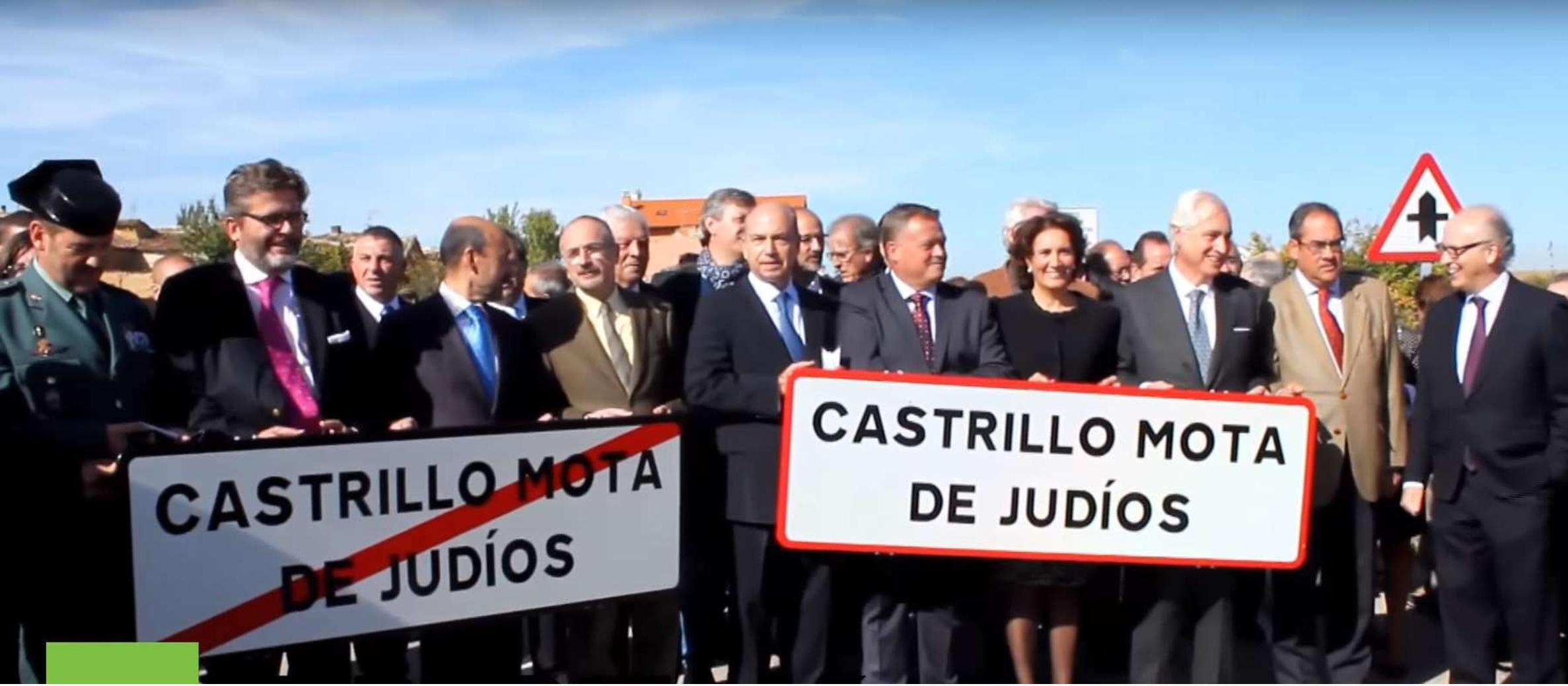 "Spain: Town changes name from ""'Camp kill the Jews"" in special ceremony"