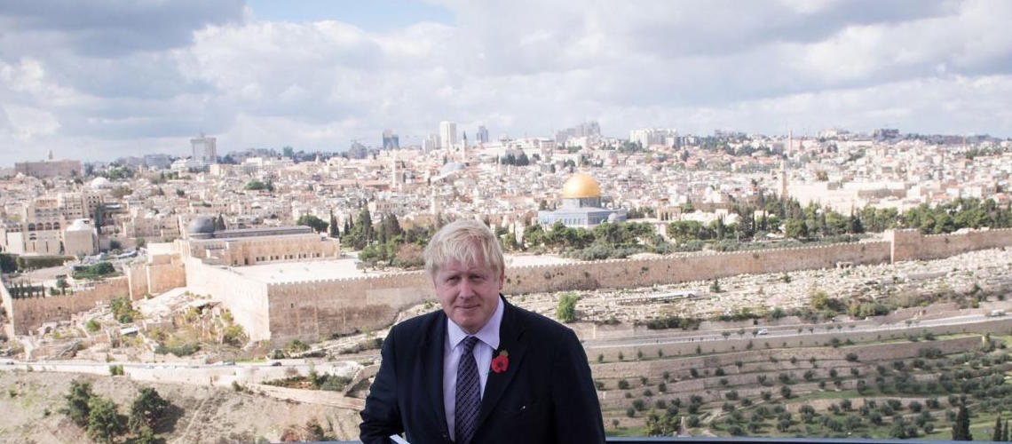 Boris Johnson reaffirms UK support for Israel in Hanukkah message