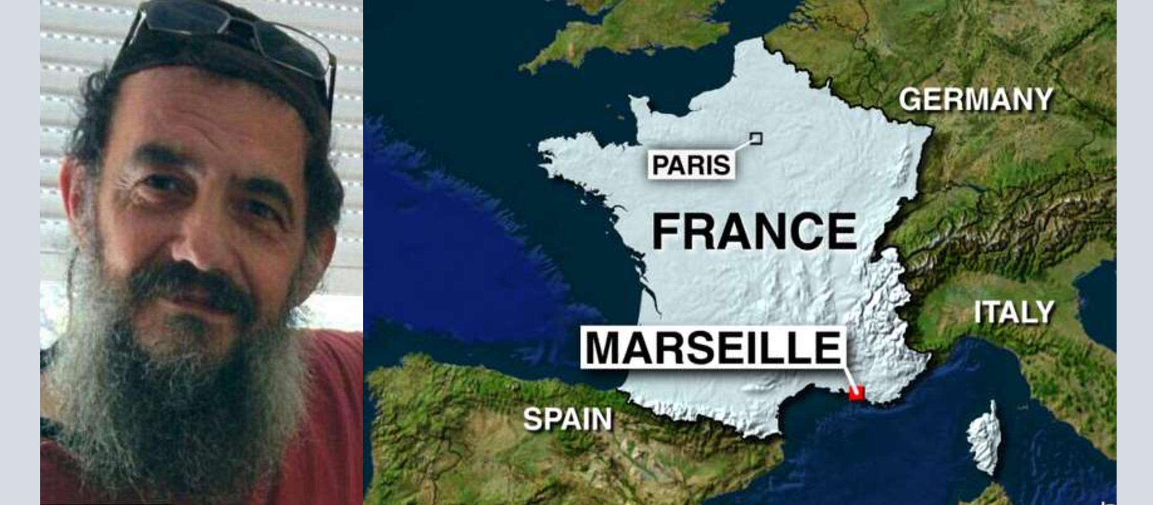 Jewish man, stabbed by 'ISIS supporters' in Marseille, named