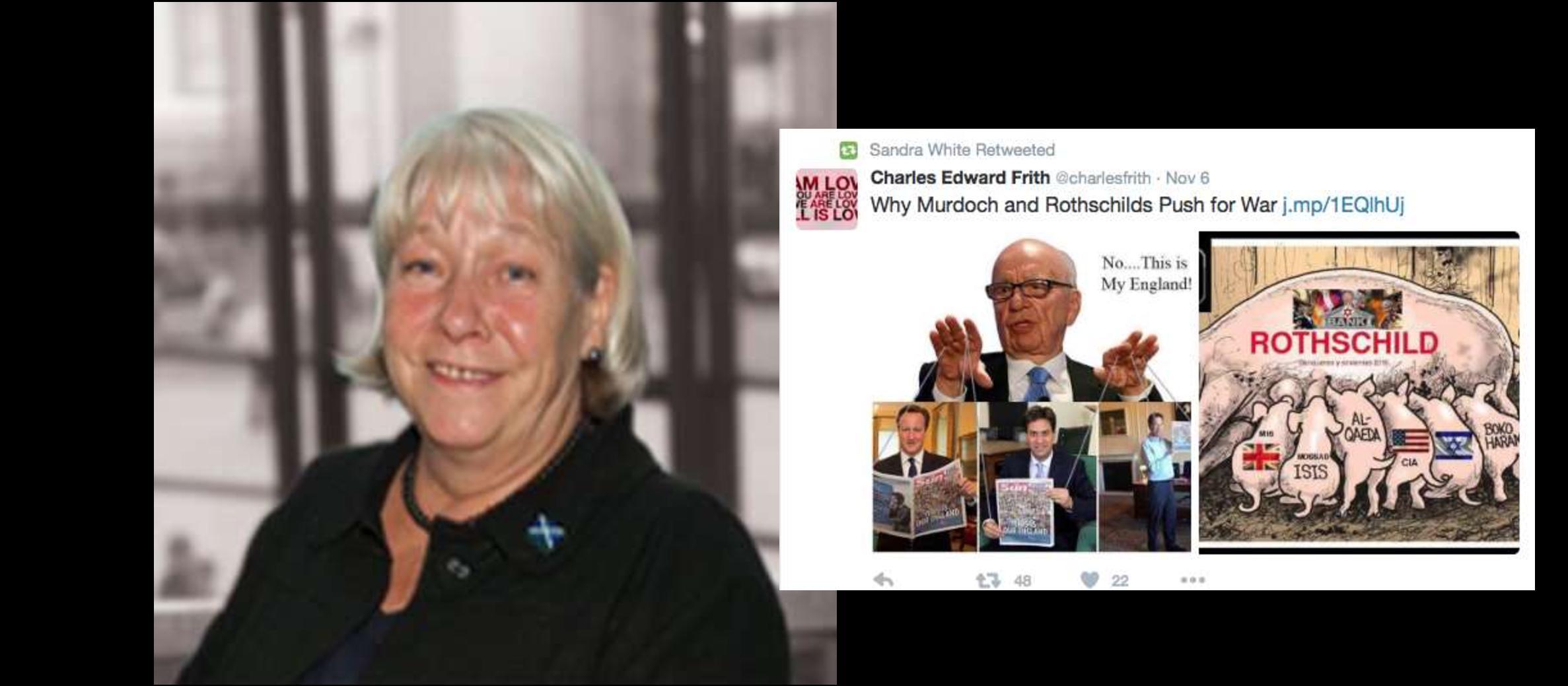 SNP politician apologised for anti-Semitic post