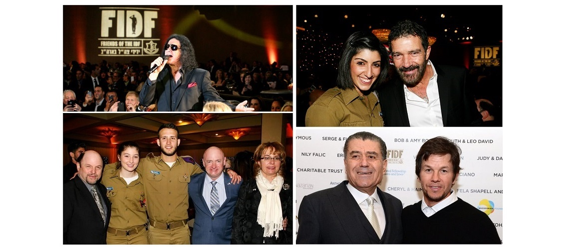 $31 Million raised for IDF at charity dinner in California