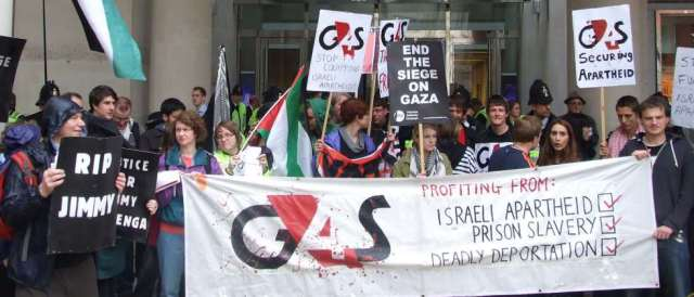 Labour votes to boycott G4S over ties to Israel