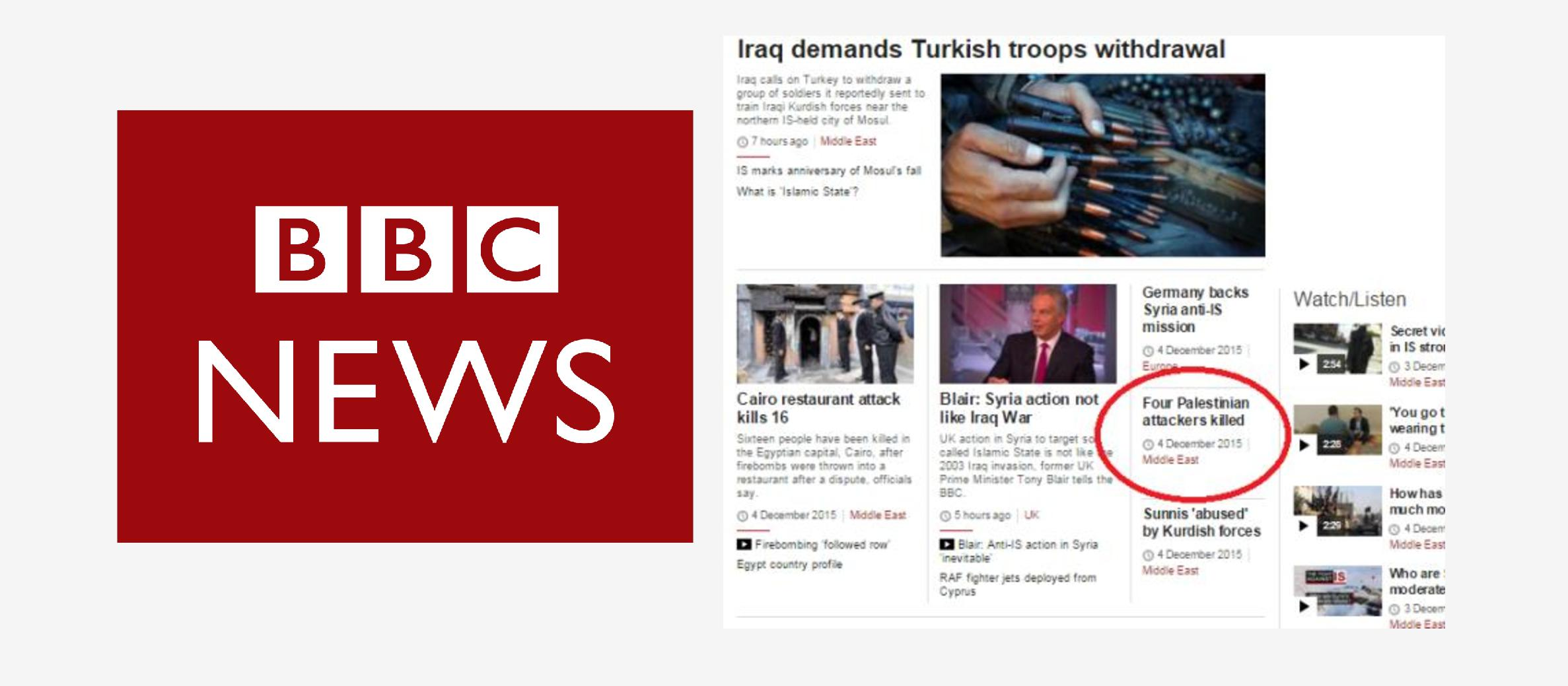 BBC News ignored most terror attacks in Israel for first half of December, say watchdog