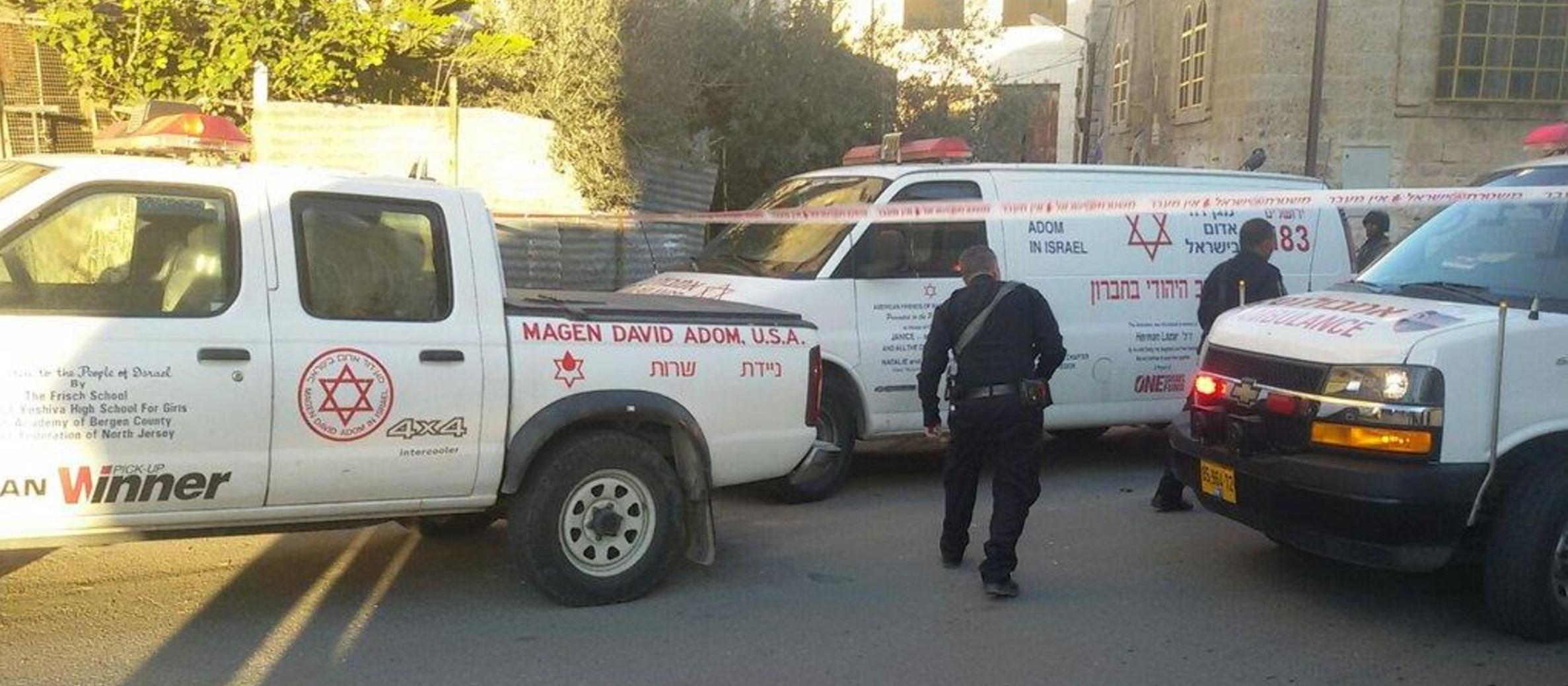 Israeli critically injured in Hebron stabbing; attacker shot dead