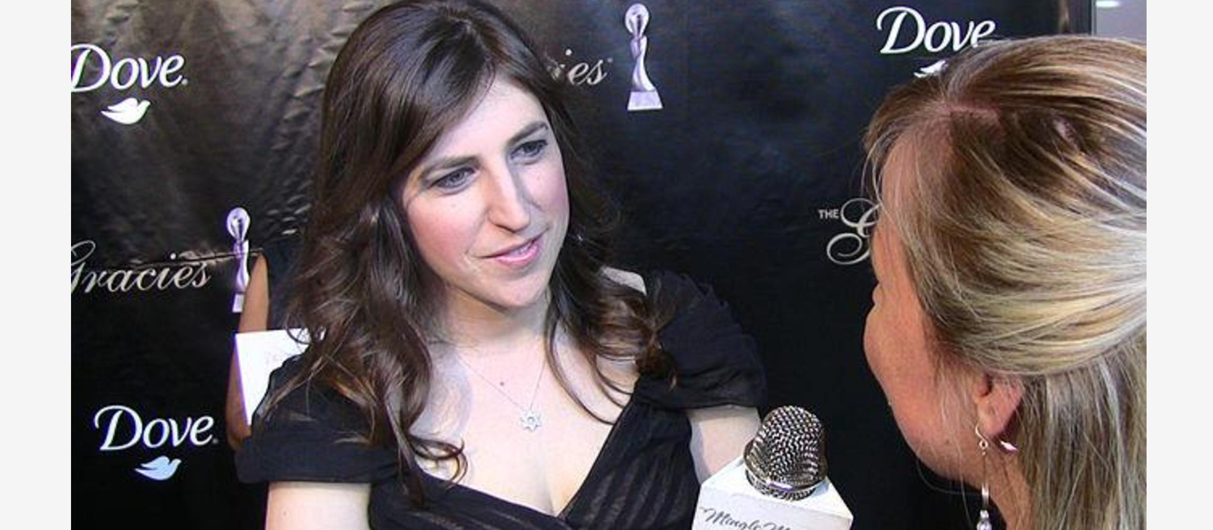 Actress Mayim Bialik: Don't be afraid to voice support for Israel