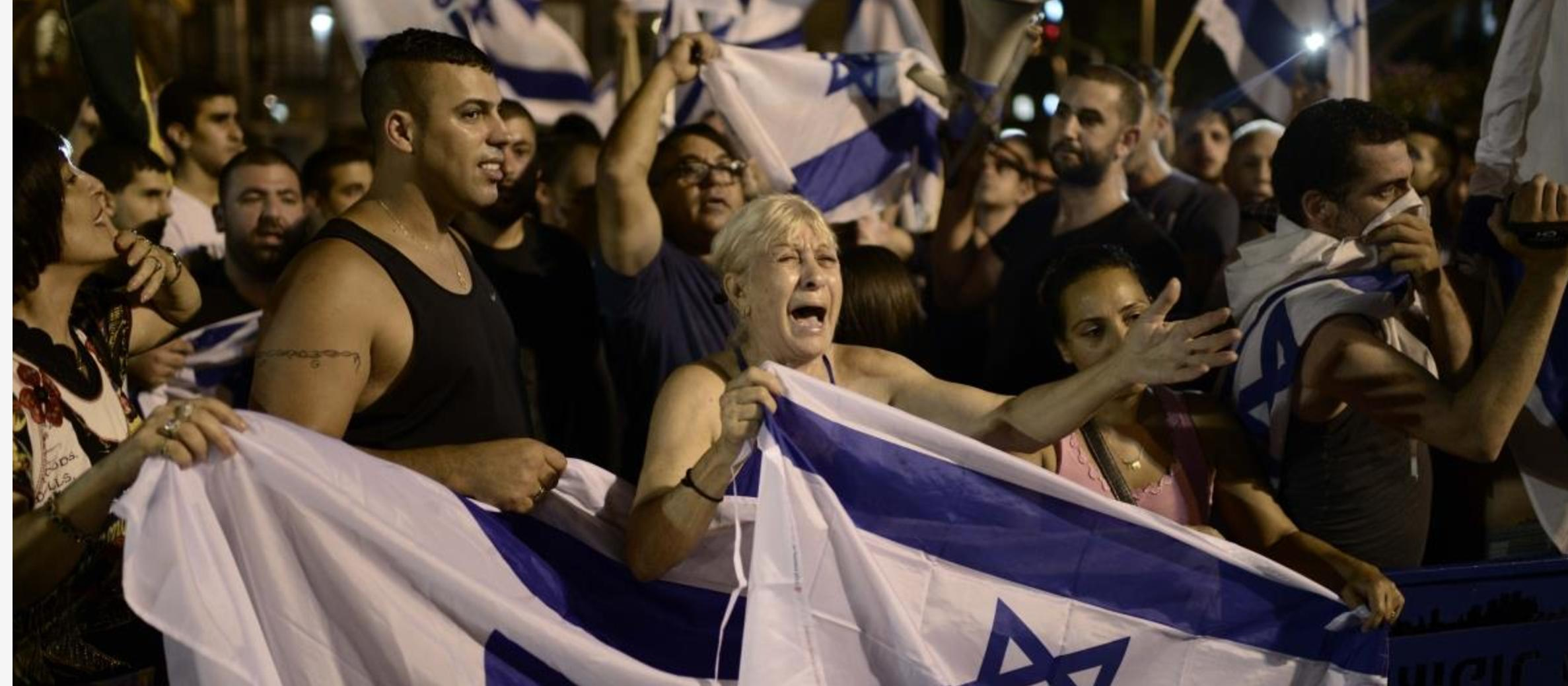 Hundreds rally for Israel in Poland