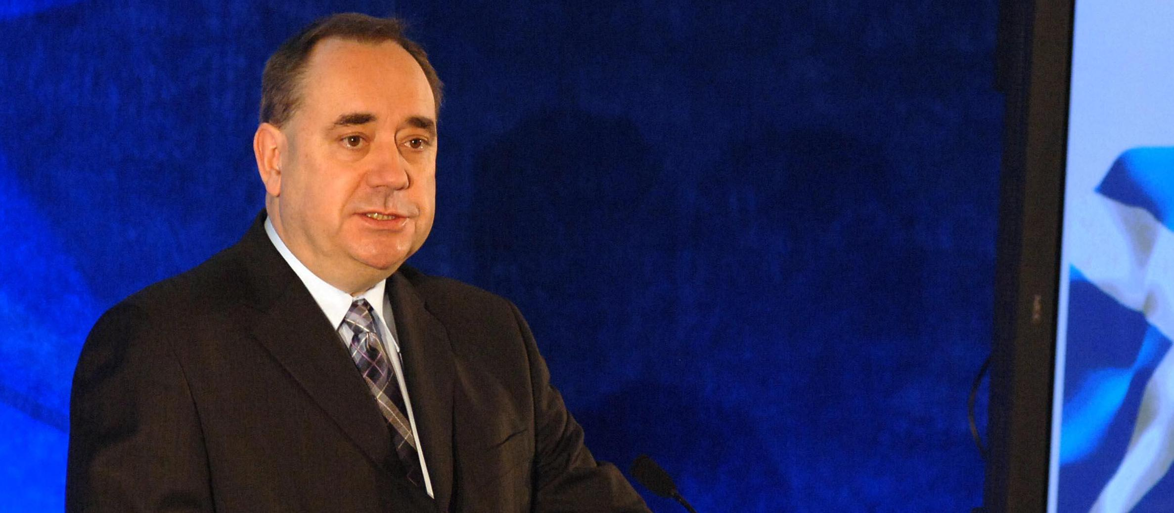 Alex Salmond criticised for rebuking Israelis over Holocaust speech