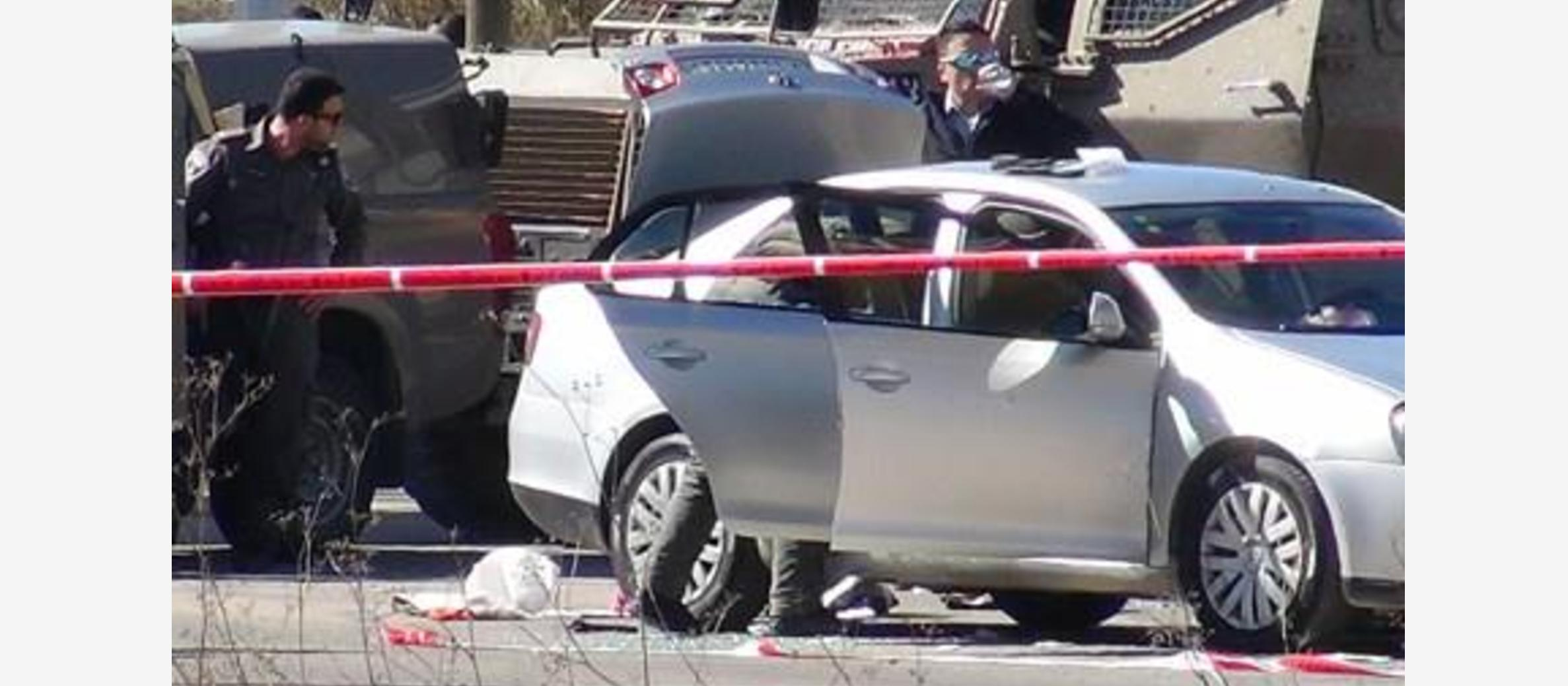 Israel steps up security at Ramallah entrance after Palestinian police officer opens fire injuring three