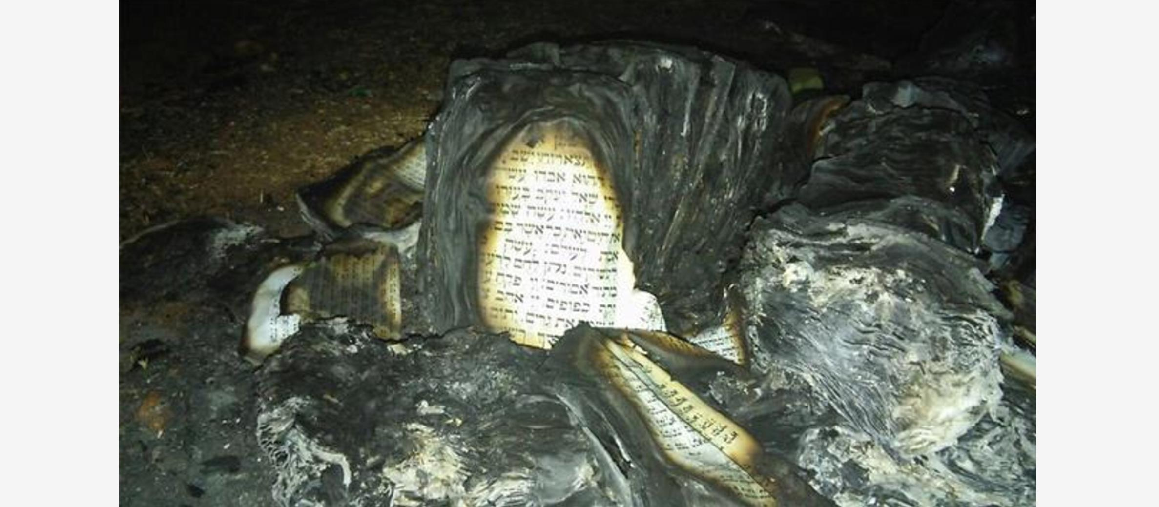 PM Netanyahu calls for world to condemn synagogue arson