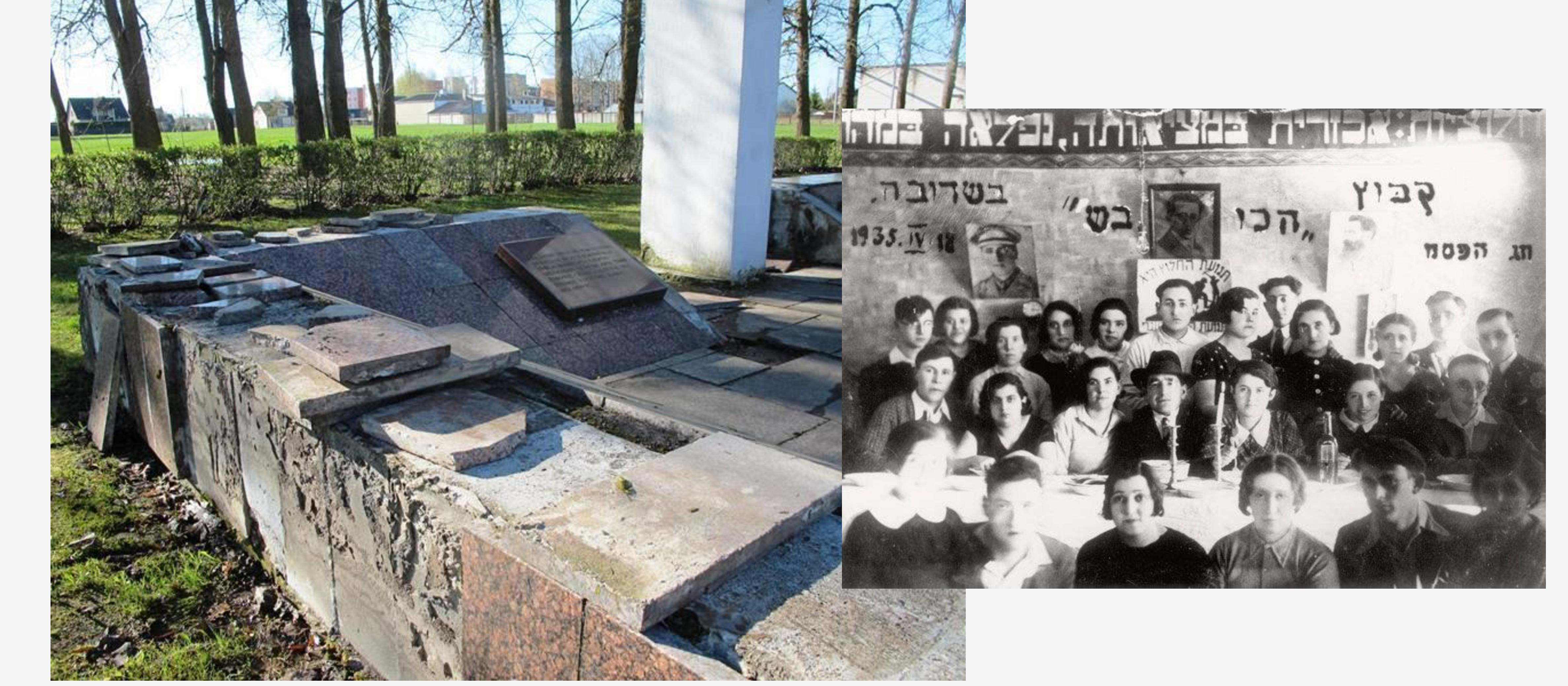 Holocaust memorial vandalised in Lithuania