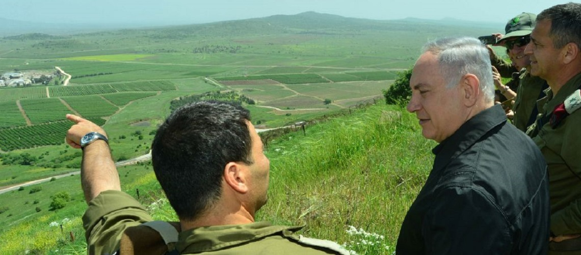 "Netanyahu: ""The Golan Heights will remain forever in Israeli hands"""