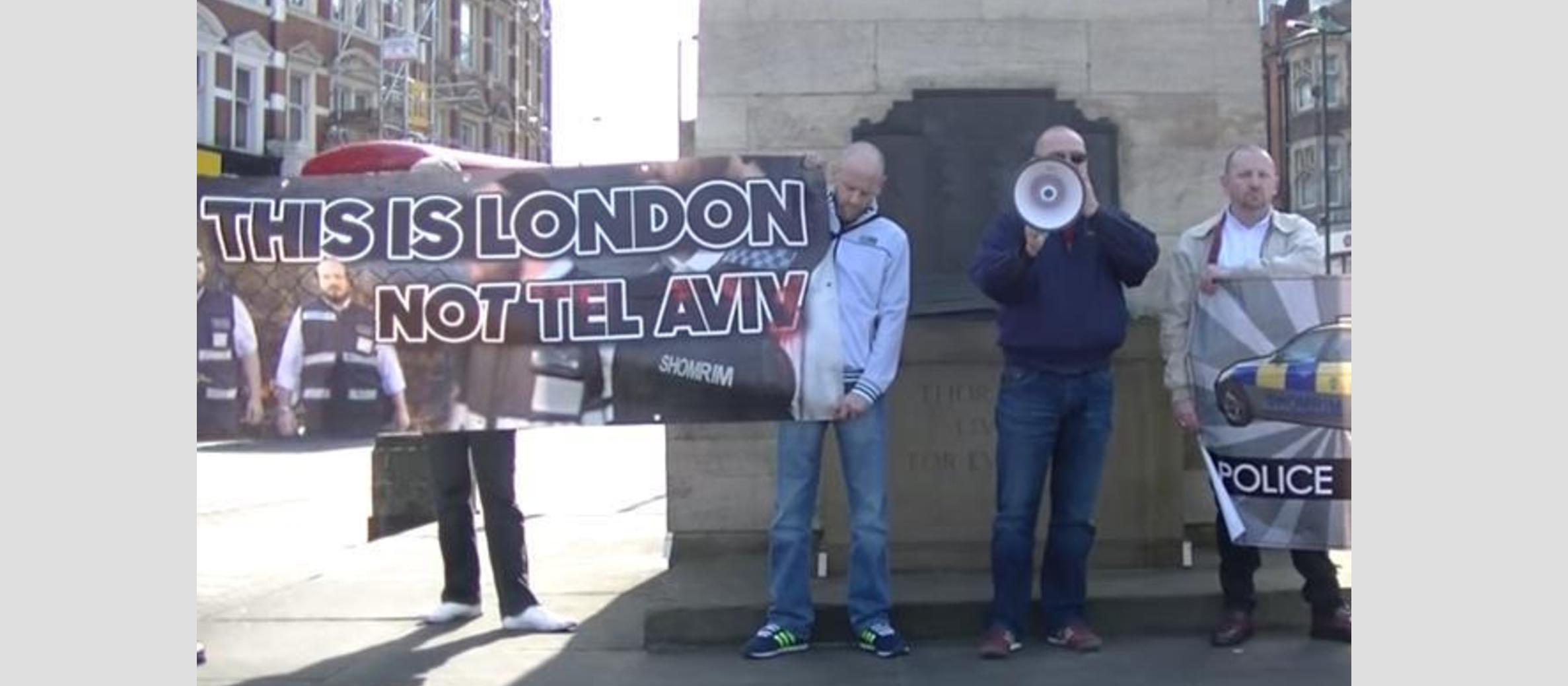 Anti-Semitic protest in north London branded 'sad and pathetic'
