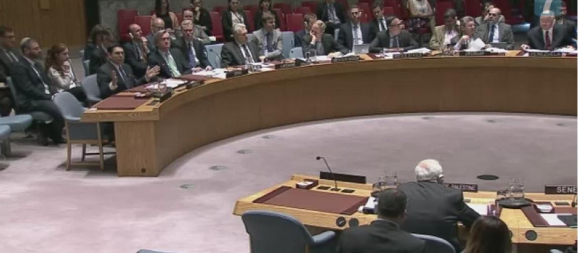 Israeli and Palestinian UN Ambassadors clash at Security Council
