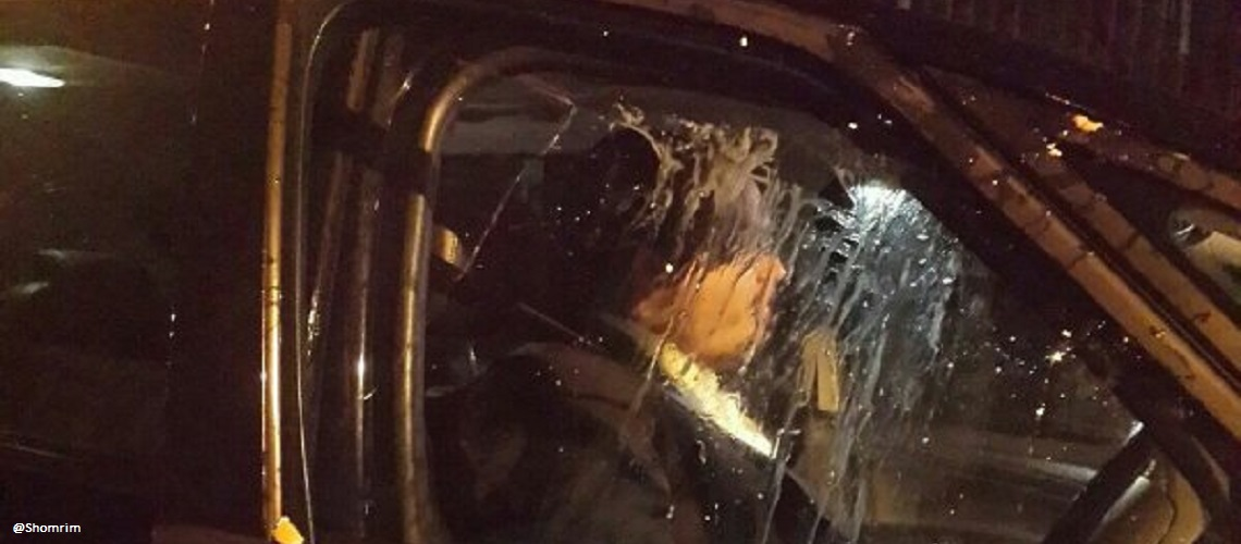 Jewish family's car egged while attackers shout anti-Semitic abuse in London tunnel