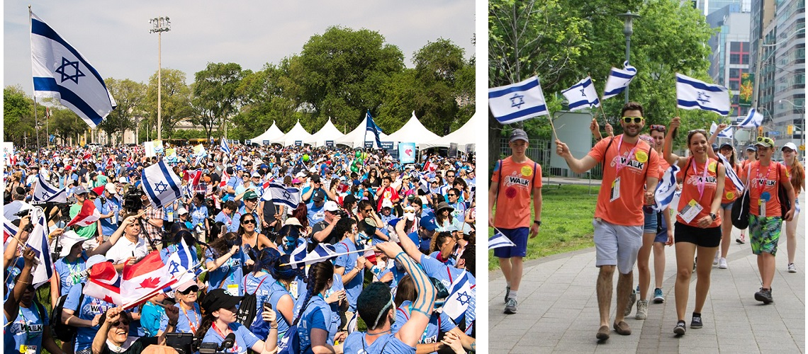 20,000 march for Israel in Toronto