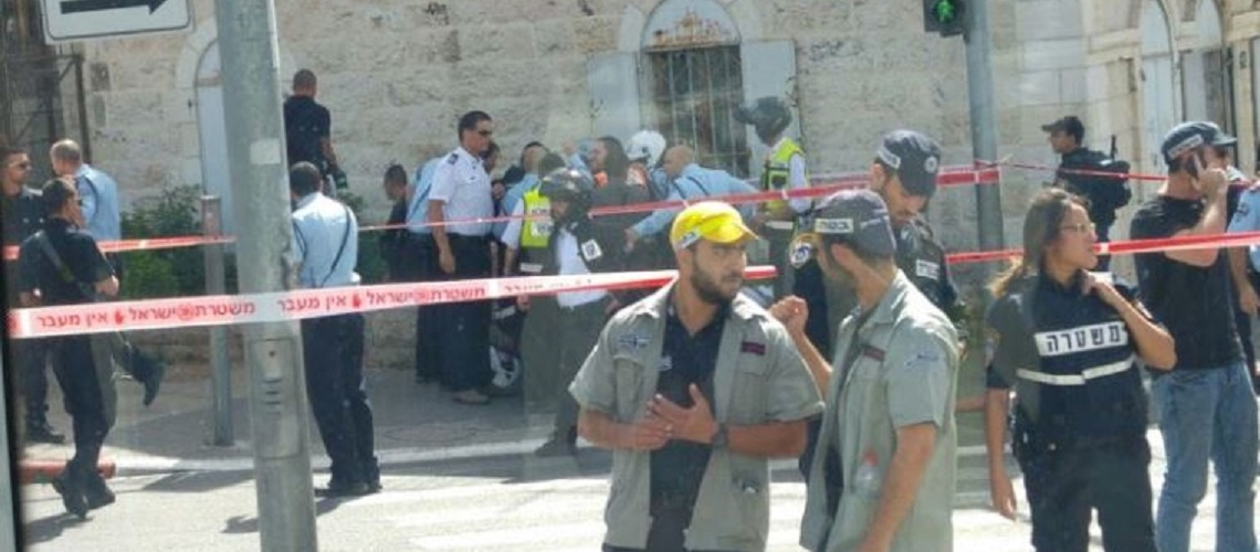 Israeli youth stabbed by Palestinian terrorist in Jerusalem