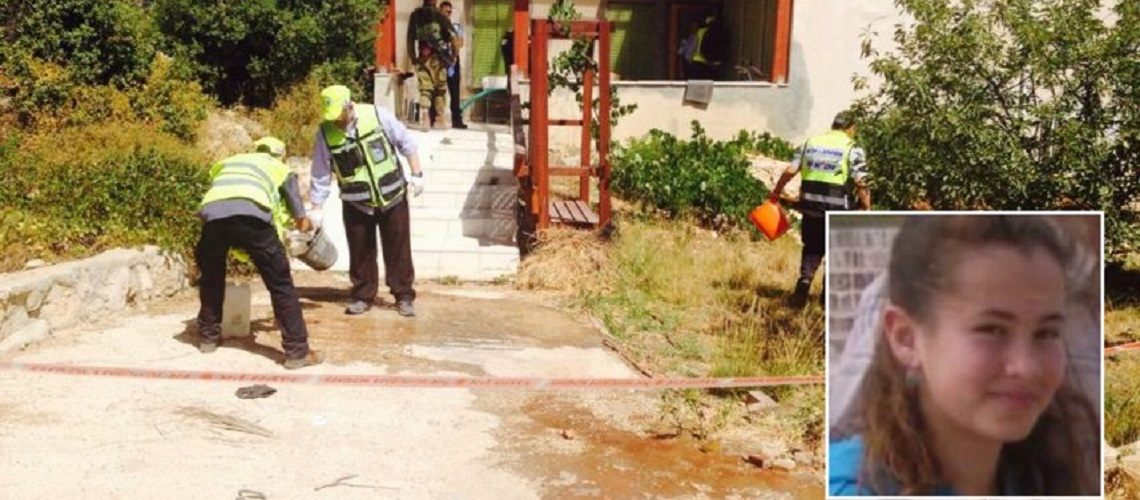 Teenage girl stabbed in bed by Palestinian terrorist