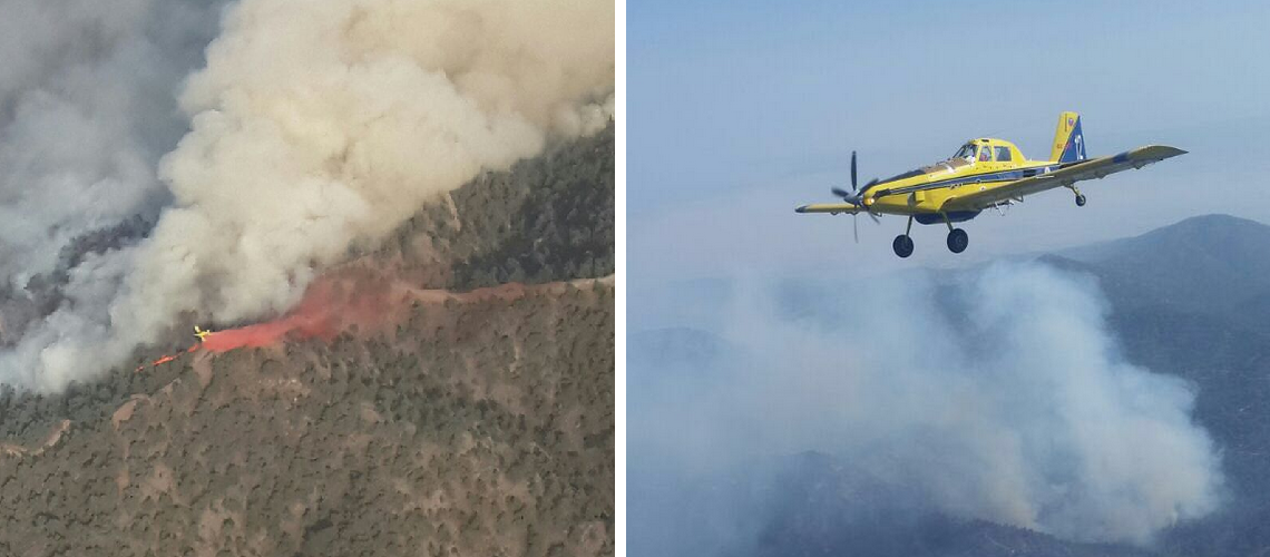 UK and Israel help tackle Cyprus fires