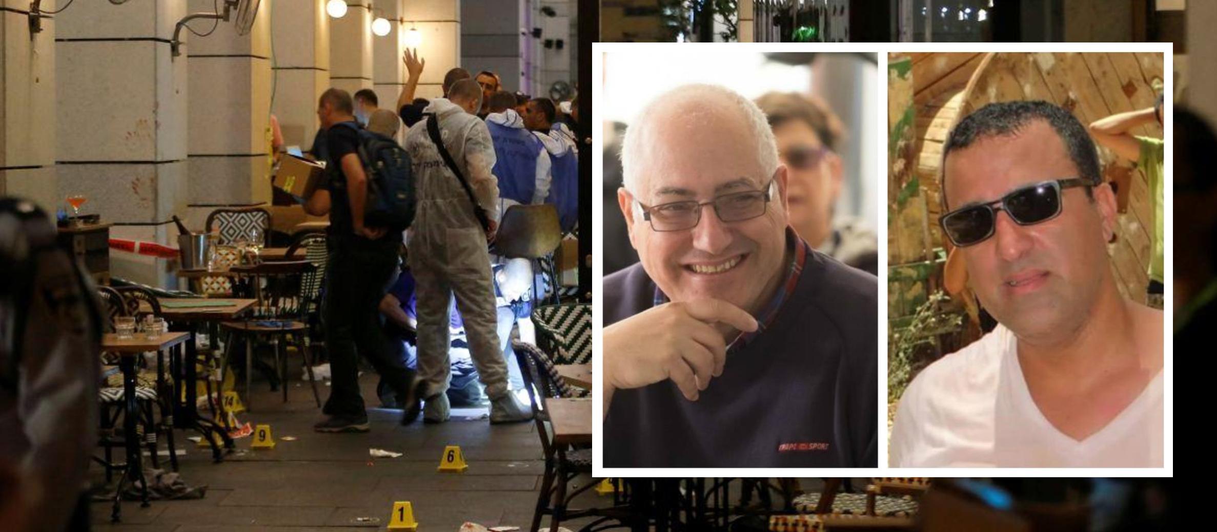 Victims of Tel Aviv terror attack named