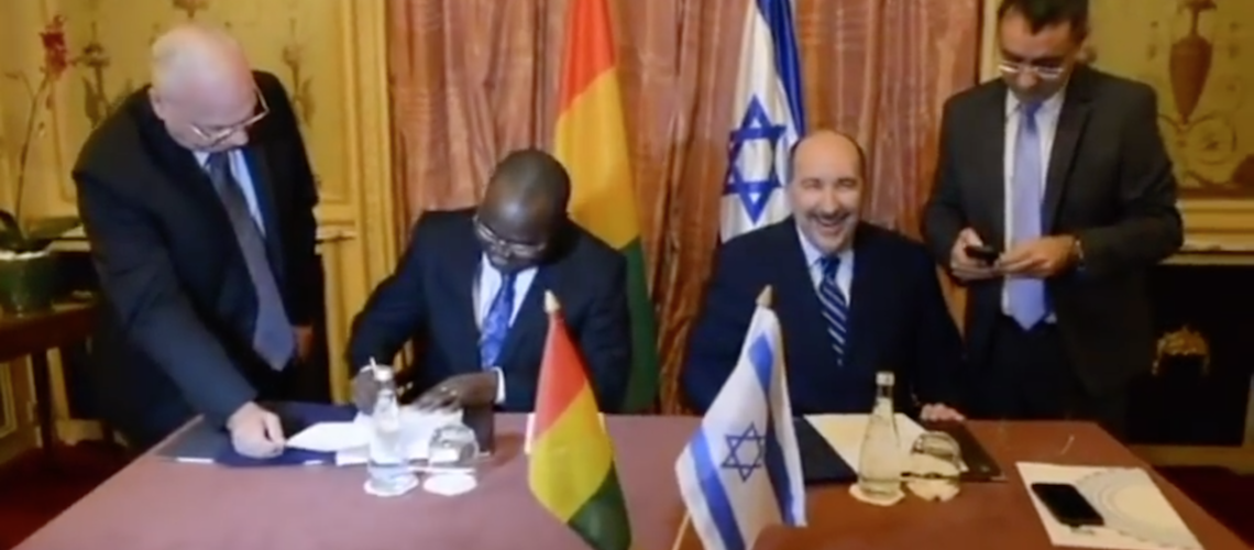 Israel renews diplomatic ties with Guinea