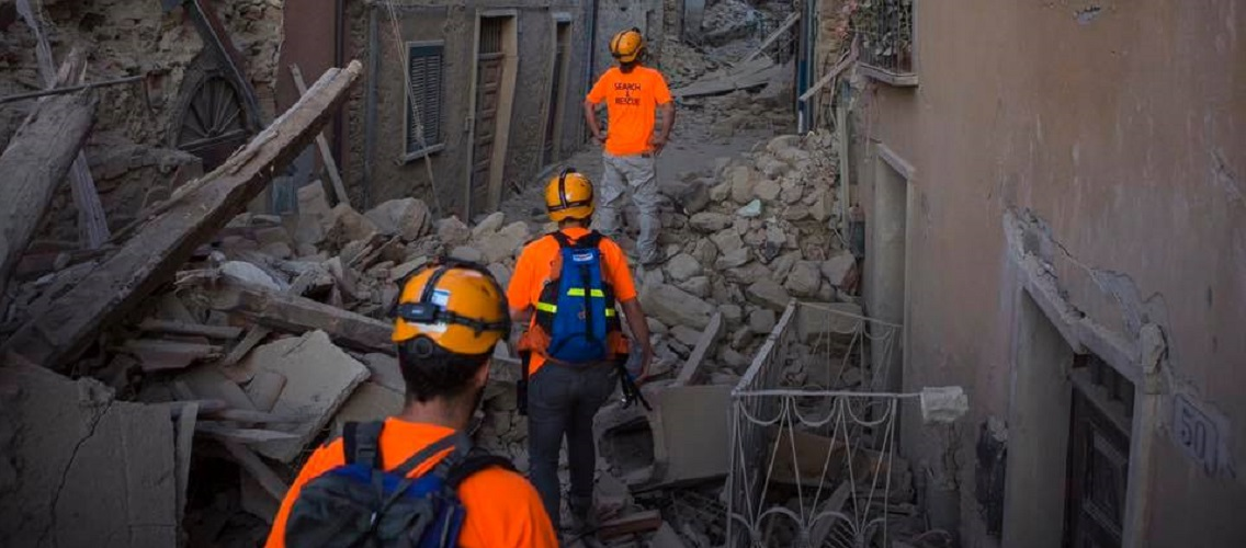 Israeli search and rescue teams arrive in Italy following earthquake