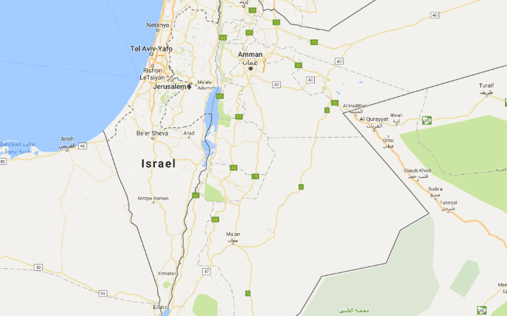 "Google says ""Palestine"" was never on Google Maps after claims it had been 'airbrushed' away"