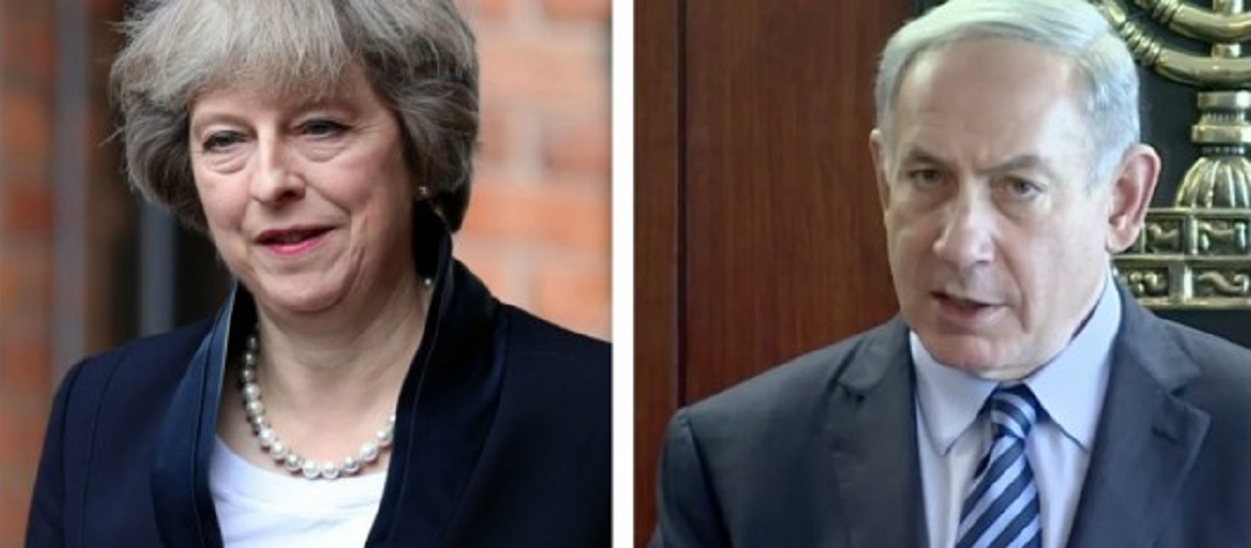 Netanyahu and Theresa May discuss global terrorism