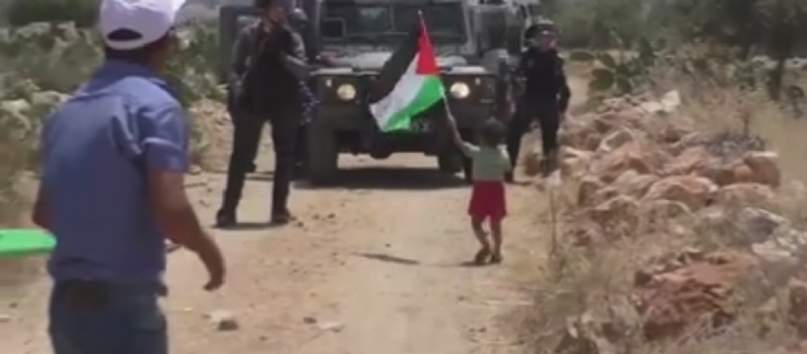 Watch: Palestinian father baits IDF to shoot his 3-year-old son