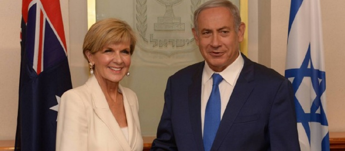 Netanyahu to be first Israel PM to visit Australia after Julie Bishop invitation