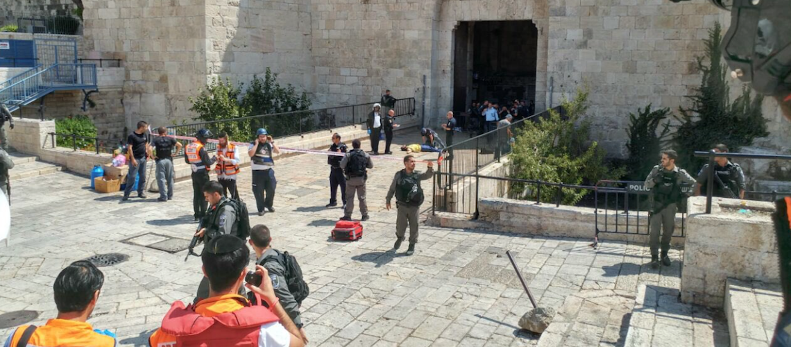 Israel: Four terrorist attacks within hours leave 5 Israelis lightly injured, 4 terrorists dead