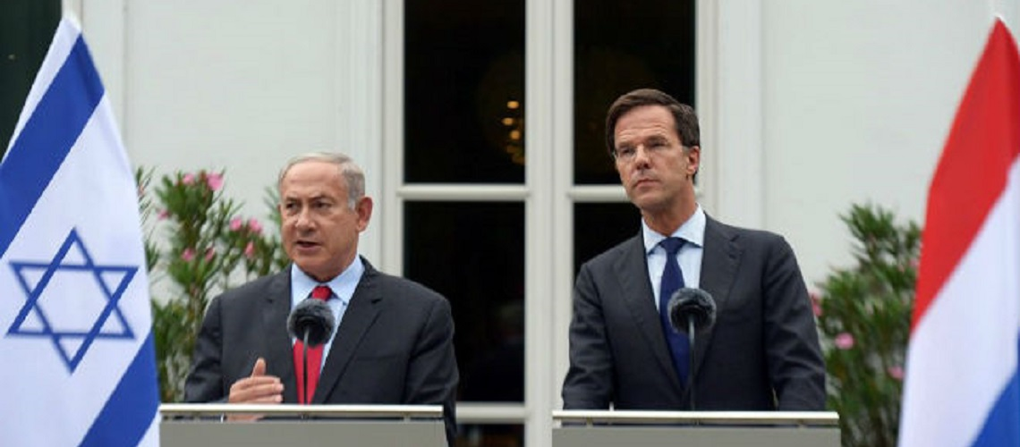 Holland and Israel to build gas pipeline to Gaza